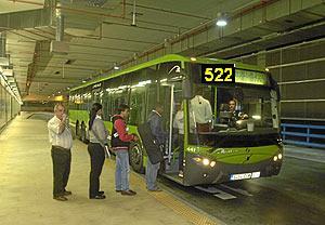 autobús 522